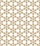 Abstrakcjonistyczny geometryczny złocisty modnisia deco sztuki wzór royalty ilustracja