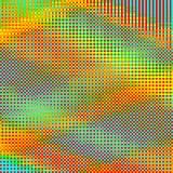 Abstrakcjonistyczny geometryczny zielony w kratkę tło obraz stock