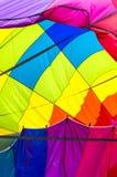 Abstrakcjonistyczny gorące powietrze balonu kolor Zdjęcia Stock