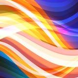 Abstrakcjonistyczny gorący kolorowy tekstury tło Obraz Stock