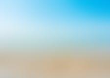 Abstrakcjonistyczny gradientowy błękitny tło Fotografia Stock