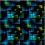 Abstrakcjonistyczny gradientowy bezszwowy wzór Obraz Stock