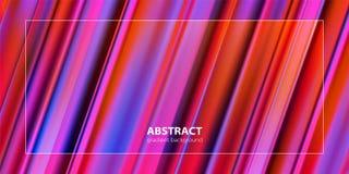 Abstrakcjonistyczny gradientowy koloru tła projekt Futurystyczni projektów plakaty ilustracja wektor