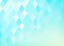 Abstrakcjonistyczny gradientowy rhombus tło Fotografia Stock