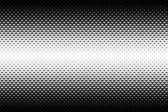 Abstrakcjonistyczny gradientu wzór z trójbokami Halftone tekstura royalty ilustracja