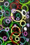 Abstrakcjonistyczny graffiti tło Obraz Royalty Free
