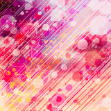 Abstrakcjonistyczny Graficzny tło z okręgami Zdjęcie Royalty Free