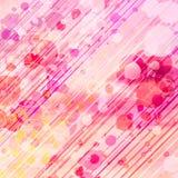 Abstrakcjonistyczny Graficzny tło z okręgami Zdjęcia Royalty Free