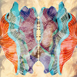 Abstrakcjonistyczny grafika wzór Fotografia Royalty Free