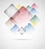 Abstrakcjonistyczny grunde boksuje abstrakcjonistyczną wektorową ilustrację Obraz Stock