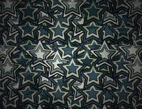 Abstrakcjonistyczny grunge gwiazdy tło Obrazy Stock