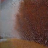 Abstrakcjonistyczny grunge krajobraz. Fotografia Royalty Free