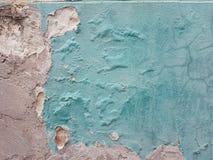 Abstrakcjonistyczny grunge tekstury tło stara zniweczona ściana na dobrze kawałek menchie, barwi z spadać tynkiem, opuszczał patc Zdjęcie Stock