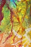 Abstrakcjonistyczny guaszu zawijas Fotografia Royalty Free