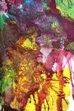 Abstrakcjonistyczny guaszu zawijas Obraz Royalty Free