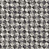 Abstrakcjonistyczny hałaśliwie textured geometryczny kształta tło Wektorowy bezszwowy grungy wzór Zdjęcia Stock