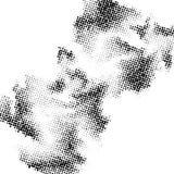 Abstrakcjonistyczny Halftone okregów kropki szablon EPS 10 wektor ilustracji