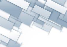 Abstrakcjonistyczny halftone tło z płytek wieszać Fotografia Stock