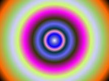 Abstrakcjonistyczny hipnotyczny tło Fotografia Stock
