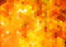Abstrakcjonistyczny honeycomb tło Fotografia Stock