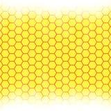 Abstrakcjonistyczny honeycomb tło rozmyty światło ilustracja wektor