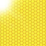 Abstrakcjonistyczny honeycomb tło rozmyty światło royalty ilustracja