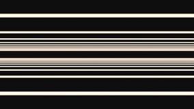 Abstrakcjonistyczny horyzontalny beż wykłada chodzenie na w górę i na dół czarnego tła, bezszwowa pętla animacja Przesmyk i szero ilustracja wektor