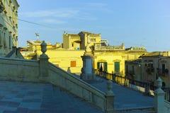 Abstrakcjonistyczny i konceptualny Sycylijski barok, antyczny miasteczko Noto Fotografia Stock