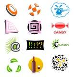 abstrakcjonistyczny ikony sumbol symbol Obrazy Royalty Free
