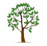 abstrakcjonistyczny ilustracyjny drzewo Zdjęcie Royalty Free