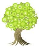 abstrakcjonistyczny ilustracyjny drzewo Fotografia Royalty Free