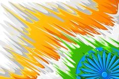 Abstrakcjonistyczny Indiański tło Zdjęcia Stock
