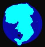 abstrakcjonistyczny inkasowy ekologii ikony logotyp Obrazy Royalty Free
