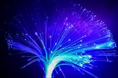 Abstrakcjonistyczny Internetowy technologii włókno światłowodowe Zdjęcie Royalty Free