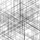 Abstrakcjonistyczny isometric komputer wytwarzający 3D projekt Fotografia Stock