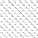 Abstrakcjonistyczny Isometric tło Biel textured projekt wektor obrazy stock
