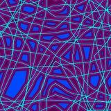 Abstrakcjonistyczny jaskrawy bezszwowy wzór ilustracja wektor