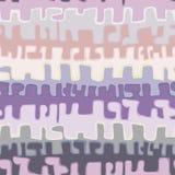 Abstrakcjonistyczny jaskrawy bezszwowy wzór Obrazy Royalty Free