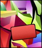 abstrakcjonistyczny jaskrawy kolorowy Zdjęcia Stock