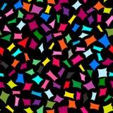 Abstrakcjonistyczny jaskrawy kolorowy bezszwowy elementu wzór Zdjęcia Stock