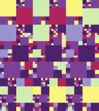 Abstrakcjonistyczny jaskrawy kolorowy bezszwowy wzór wektor ilustracja wektor
