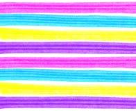 Abstrakcjonistyczny jaskrawy kolorowy pasiasty tło Zdjęcie Stock