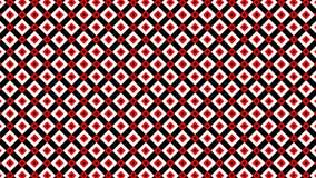 Abstrakcjonistyczny jaskrawy seamlees wzór Śliczny materiał filmowy z geometrycznymi kształtami Usterki pojęcie Zapętlająca anima zbiory wideo