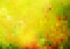 Abstrakcjonistyczny jaskrawy tło, zielony i pogodny ilustracji