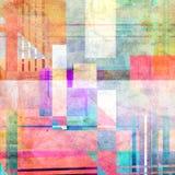 Abstrakcjonistyczny jaskrawy tło Zdjęcia Stock