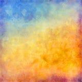 Abstrakcjonistyczny jesień wektoru tło Zdjęcie Royalty Free