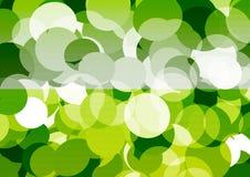 Abstrakcjonistyczny kółkowy bokeh tło światło Zdjęcie Royalty Free
