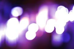 Abstrakcjonistyczny kółkowy bokeh tło Christmaslight Fotografia Royalty Free