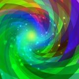 Abstrakcjonistyczny kółkowy kolorowy tło Fotografia Royalty Free