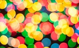 Abstrakcjonistyczny kółkowy bokeh Zdjęcie Royalty Free